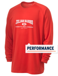 Julian Harris Elementary School Challengers Men's Ultimate Performance Long Sleeve T-Shirt