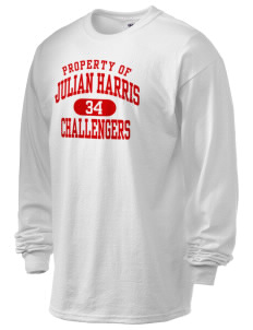 Julian Harris Elementary School Challengers 6.1 oz Ultra Cotton Long-Sleeve T-Shirt