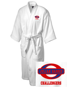 Julian Harris Elementary School Challengers Embroidered Terry Velour Robe