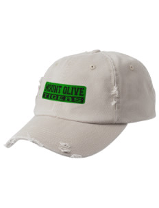 Mount Olive Elementary School Tigers Embroidered Distressed Cap