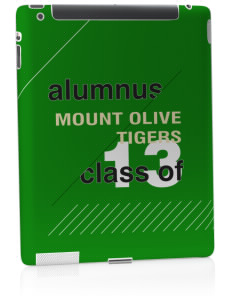Mount Olive Elementary School Tigers Apple iPad 2 Skin