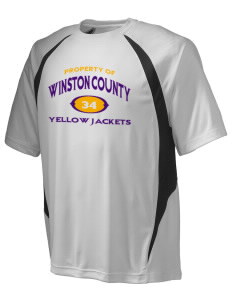 Winston County High School Yellow Jackets Champion Men's Double Dry Elevation T-Shirt