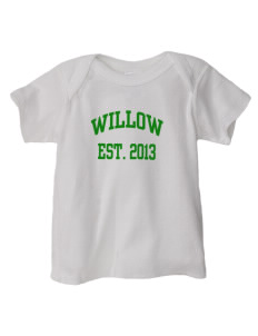 Willow Elementary School Wolverines  Baby Lap Shoulder T-Shirt