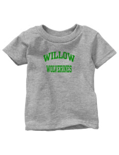 Willow Elementary School Wolverines  Toddler Jersey T-Shirt