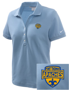 Fort Thomas Elementary School Apaches Embroidered Nike Women's Pique Golf Polo