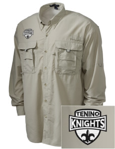 Tenino Middle School Knights Embroidered Men's Explorer Shirt with Pockets