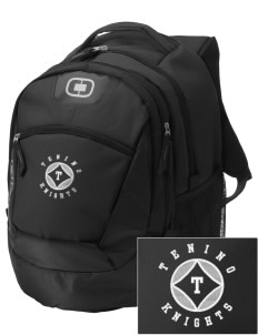 Tenino Middle School Knights Embroidered OGIO Rogue Backpack