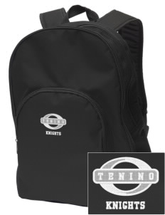 Tenino Middle School Knights Embroidered Value Backpack