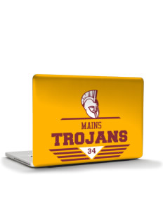 "Mains Elementary School Trojans Apple MacBook Pro 15"" & PowerBook 15"" Skin"
