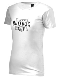 Truman High School Bulldog Alternative Women's Basic Crew T-Shirt