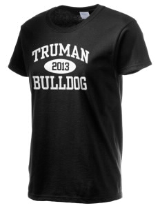 Truman High School Bulldog Women's 6.1 oz Ultra Cotton T-Shirt