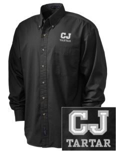 compton jc tartar Embroidered Tall Men's Twill Shirt