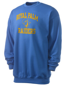 Royal Palm Junior High School Raiders Men's 7.8 oz Lightweight Crewneck Sweatshirt