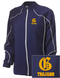 Gidley Elementary School Trojans Embroidered Russell Women's Full Zip Jacket