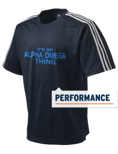 Alpha Omega Academy We don't have one.  We have a logo adidas Men's ClimaLite T-Shirt