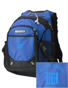 Alpha Omega Academy We don't have one.  We have a logo Embroidered OGIO Fugitive Backpack