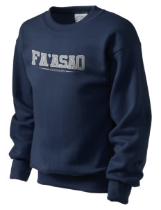 fa'asao high cougars Kid's Crewneck Sweatshirt
