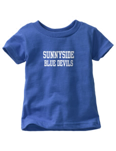 Sunnyside High School Blue Devils  Toddler Jersey T-Shirt