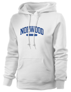 Norwood Elementary School Roadrunners Russell Women's Pro Cotton Fleece Hooded Sweatshirt