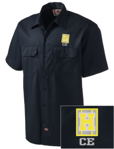 Chaparral Elementary Heat Embroidered Dickies Men's Short-Sleeve Workshirt