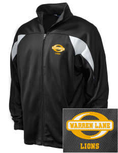 Warren Lane Elementary School Lions Embroidered Holloway Men's Full-Zip Track Jacket
