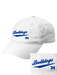 David O Dodd Elementary School Bulldogs  Embroidered New Era Adjustable Unstructured Cap