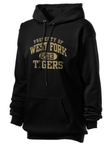 West Fork High School Tigers Unisex Hooded Sweatshirt
