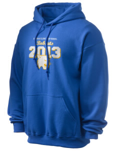Bowman Elementary School Bobcats Ultra Blend 50/50 Hooded Sweatshirt