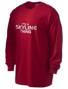 Skyline High School Titans 6.1 oz Ultra Cotton Long-Sleeve T-Shirt