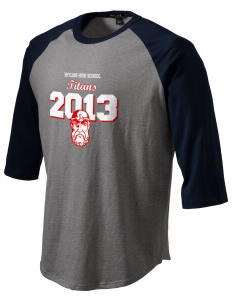 Skyline High School Titans Men's Baseball T-Shirt