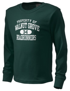 Walnut Grove Elementary School Roadrunners  Kid's Long Sleeve T-Shirt