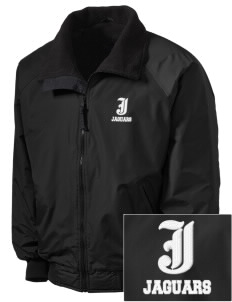 Jefferson Elementary School Jaguars Embroidered Men's Fleece-Lined Jacket