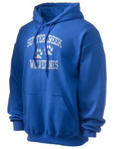 Sutter Creek Elementary School Wolverines Ultra Blend 50/50 Hooded Sweatshirt