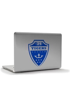 "Durham Elementary School Tigers Apple MacBook Pro 15.4"" Skin"
