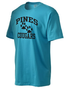 Pines Elementary School Cougars Men's Essential T-Shirt