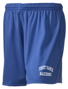 "Forest Ranch Elementary School Raccoons Holloway Women's Performance Shorts, 5"" Inseam"