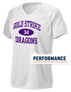 Gold Strike High School Dragons Holloway Women's Zoom Performance T-Shirt