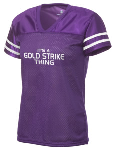 Gold Strike High School Dragons Holloway Women's Fame Replica Jersey
