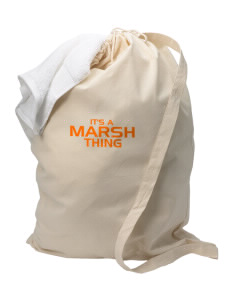 Marsh Elementary School Tigers Laundry Bag