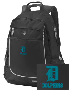 Discovery Bay Elementary School Dolphins Embroidered OGIO Carbon Backpack
