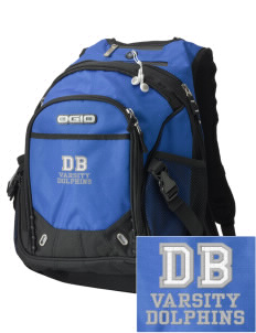 Discovery Bay Elementary School Dolphins Embroidered OGIO Fugitive Backpack