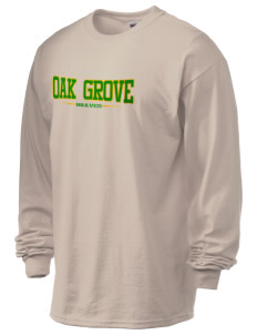 Oak Grove Middle School Braves 6.1 oz Ultra Cotton Long-Sleeve T-Shirt