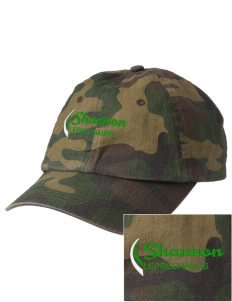 Shannon Elementary School Leprechauns Embroidered Camouflage Cotton Cap