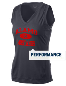 Alamo Elementary School Mustangs Women's Performance Fitness Tank