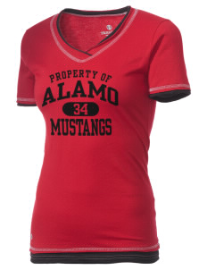 Alamo Elementary School Mustangs Holloway Women's Dream T-Shirt