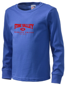 Stone Valley Middle School Pride  Kid's Long Sleeve T-Shirt