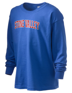 Stone Valley Middle School Pride Kid's 6.1 oz Long Sleeve Ultra Cotton T-Shirt