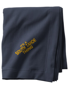 South Tahoe High School Vikings  Sweatshirt Blanket