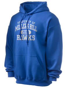 Millers Hill Middle School Hawks Ultra Blend 50/50 Hooded Sweatshirt