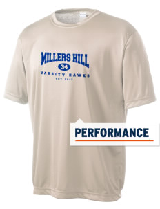 Millers Hill Middle School Hawks Men's Competitor Performance T-Shirt